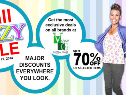 Vision City Mega Mall Crazy Sale